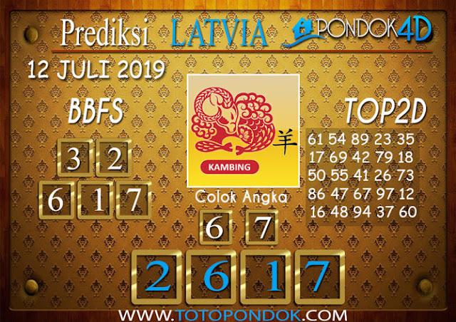 Prediksi Togel LATVIA PONDOK4D 12 JULI 2019