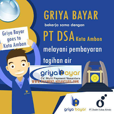 Daftar Griya Bayar PDAM PT DSA Kota Ambon