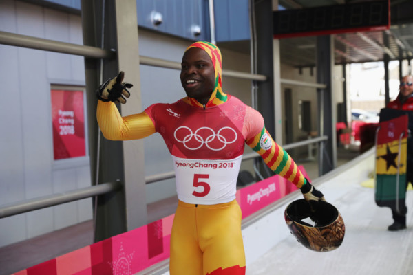"""""""I came last but it doesn't matter"""" – Ghana's Akwasi Frimpong competing in Winter Olympics"""
