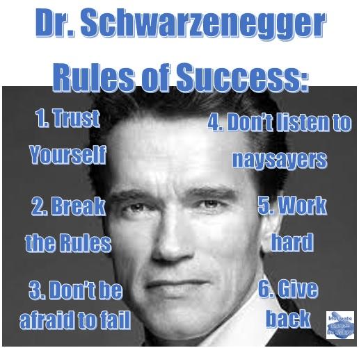 Arnold Schwarzenegger 6 Rules Of Success Speech Motivate