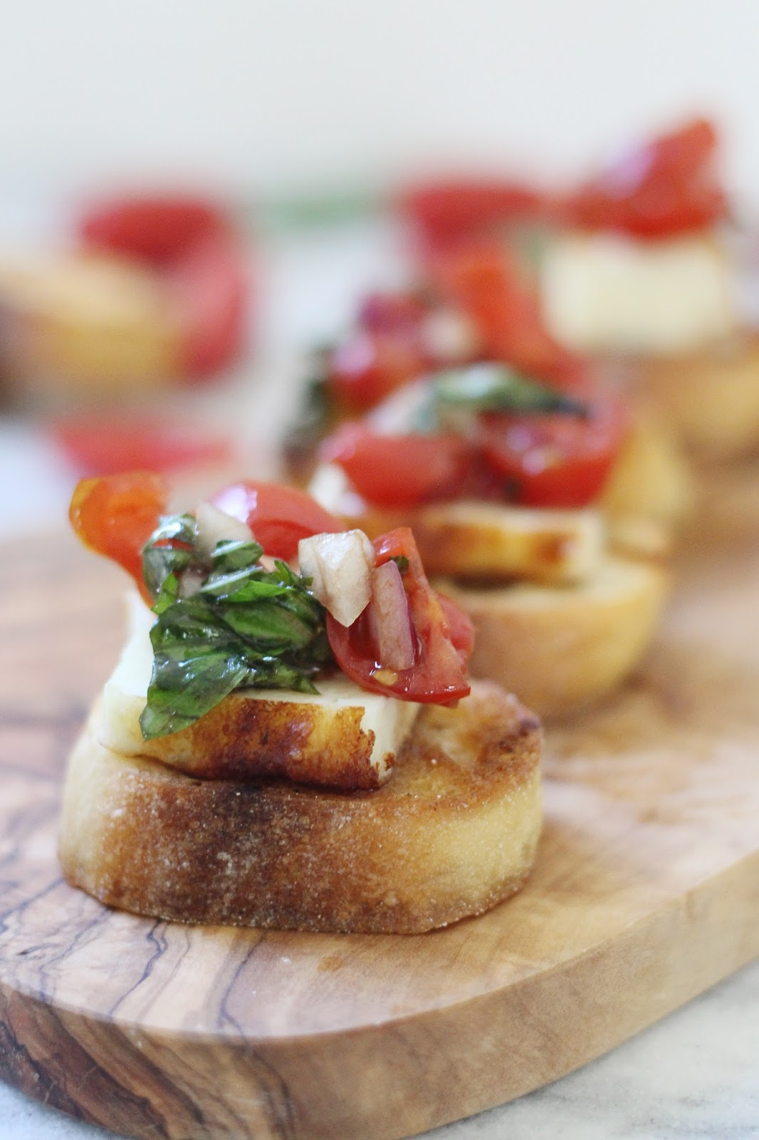 Grilled Cheese Bruschetta