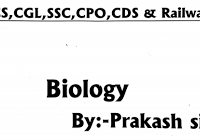 Top 20 MCQs (Biology) : Most Asked Question | SSC CGL CHSL MTS CPO | UPSC | RAILWAY