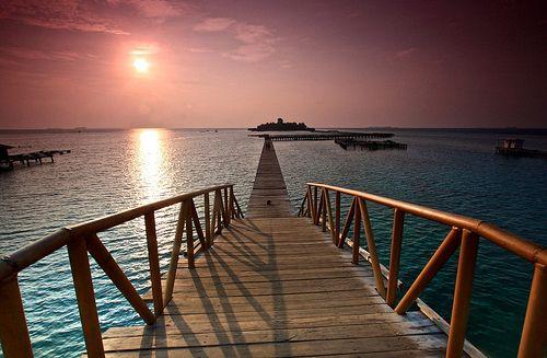Pesona Pulau Tidung kepualauan seribu