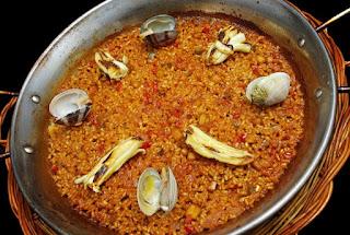 Arroz espardeñas almejas Restaurante Filigrana