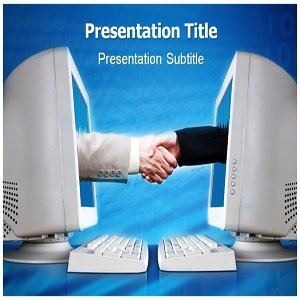 High Level Of E-Business Powerpoint Templates With PPT