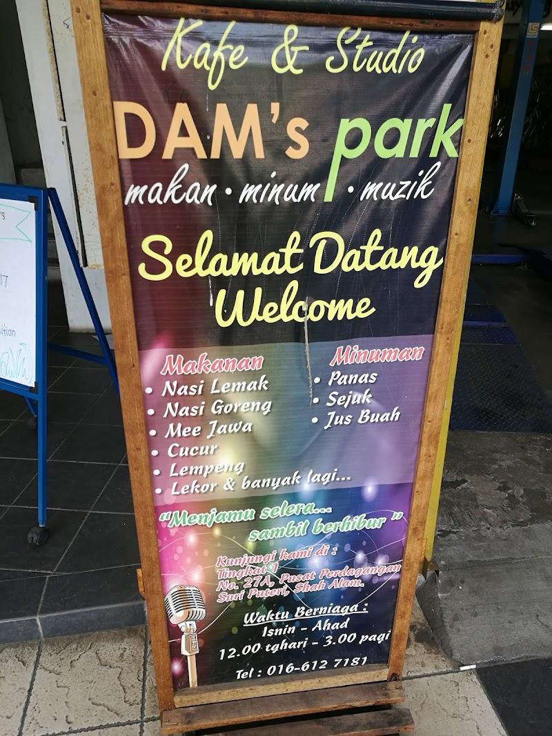 Kafe dan Studio DAM's Park, Seksyen 20, Shah Alam