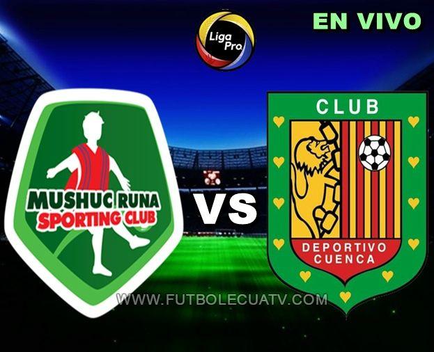 Mushuc Runa se enfrenta a Deportivo Cuenca en vivo 💻 desde las 14:00 horario local a jugarse en el estadio Cooperativa de Ahorro y Crédito por la fecha dos del torneo ecuatoriano, siendo el árbitro principal Marlon Vera con emisión del medio autorizado GolTV.