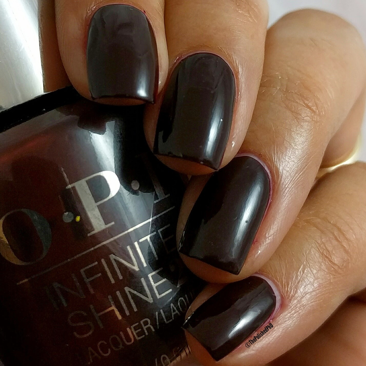 OPI Breakfast at Tiffany\'s Infinite Shine Collection | The Polished PhD