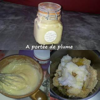 recette crème onctueuse visage corps beurre karité huile coco cire d'abeille slow cosmétique zéro déchet