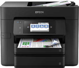 Epson Product Setup contains everything yous involve to purpose your Epson production Download Epson WorkForce Pro WF-4740DTWF Drivers