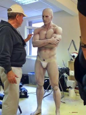 El rodaje de Prometheus detrás de las cámaras