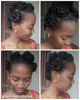 Bantu knots with extension