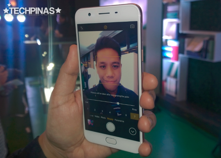 Oppo F1s Front Selfie Camera