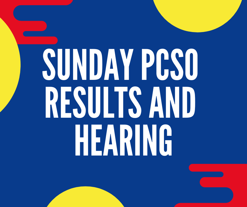 March 10 2019 (11AM, 4PM, 9PM) | PCSO Results and Hearing - Swertres