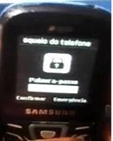 Samsung GT E1500 phone lock code password