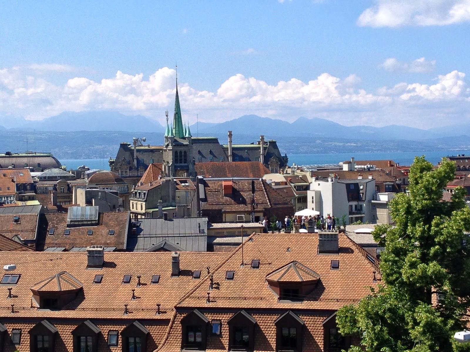 Villes à proximité de Lausanne