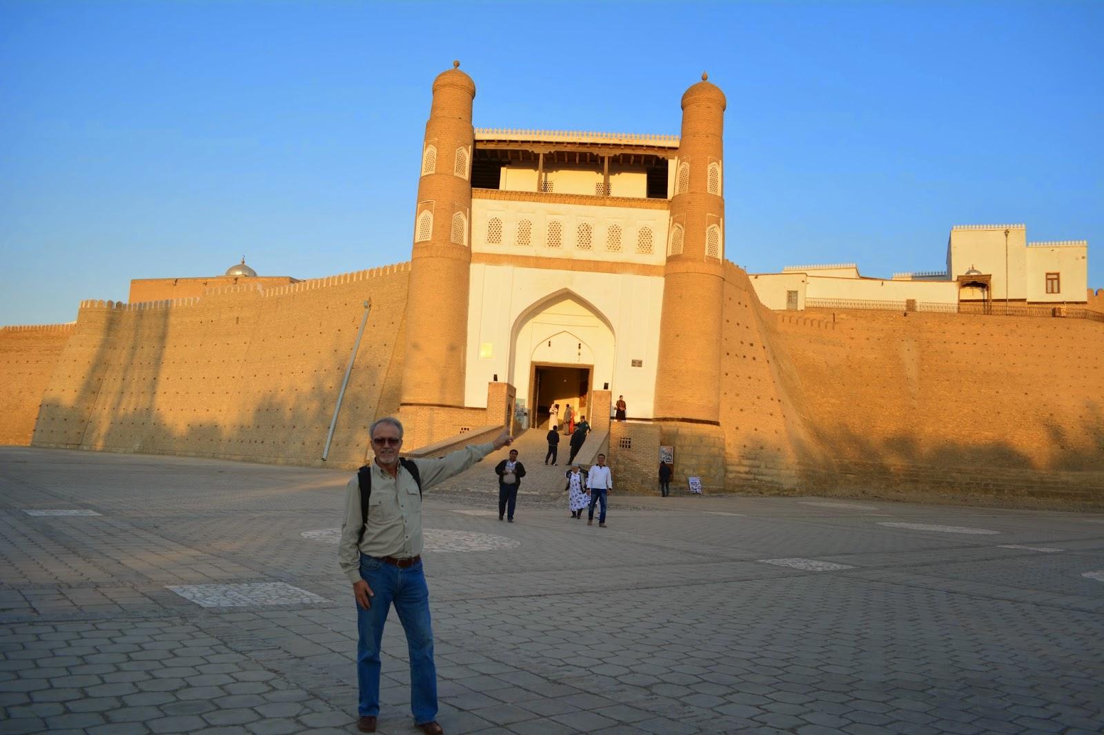 Ark Kalesi, Buhara, Özbekistan