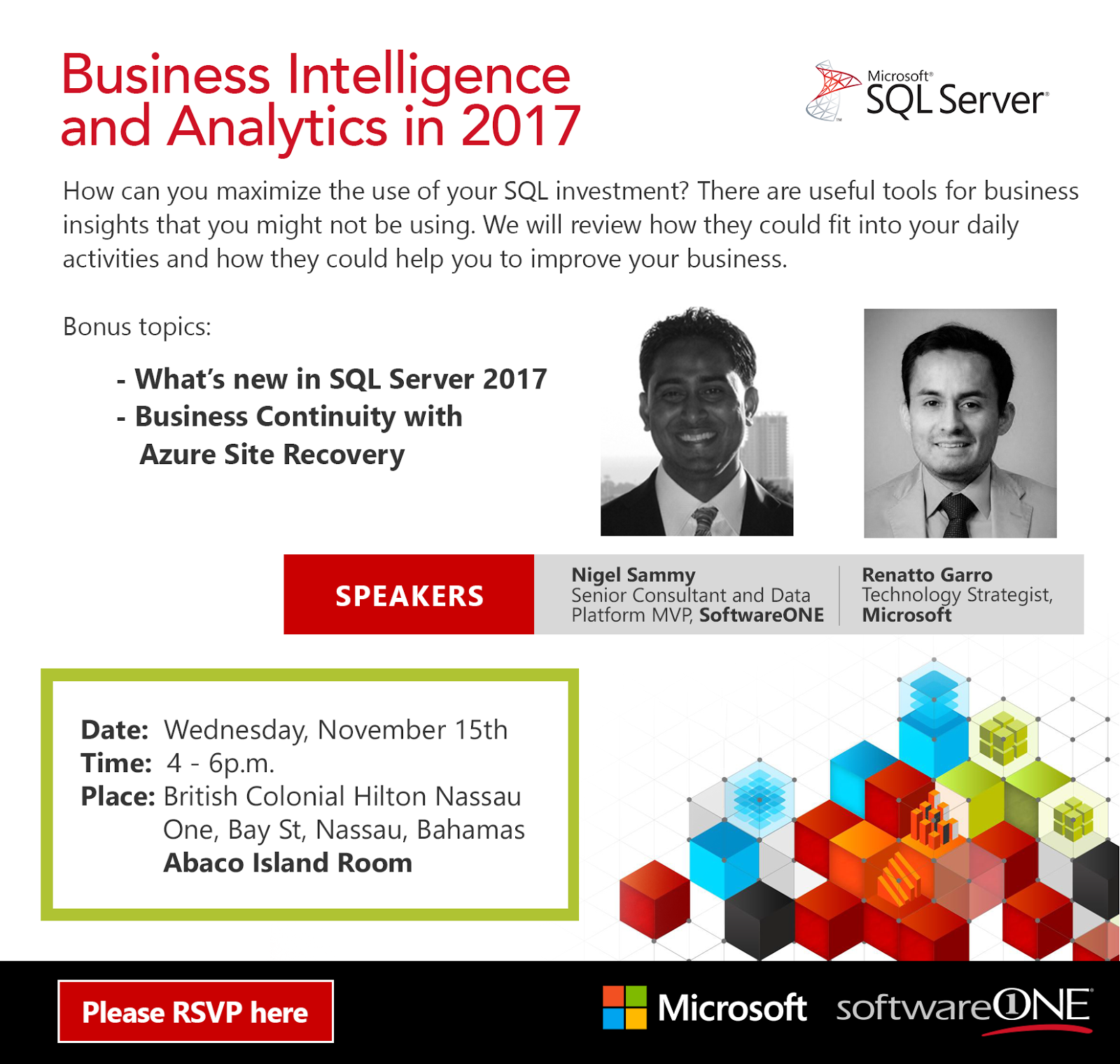 https://www.eventbrite.com/e/business-intelligence-and-analytics-in-2017-tickets-39464149333