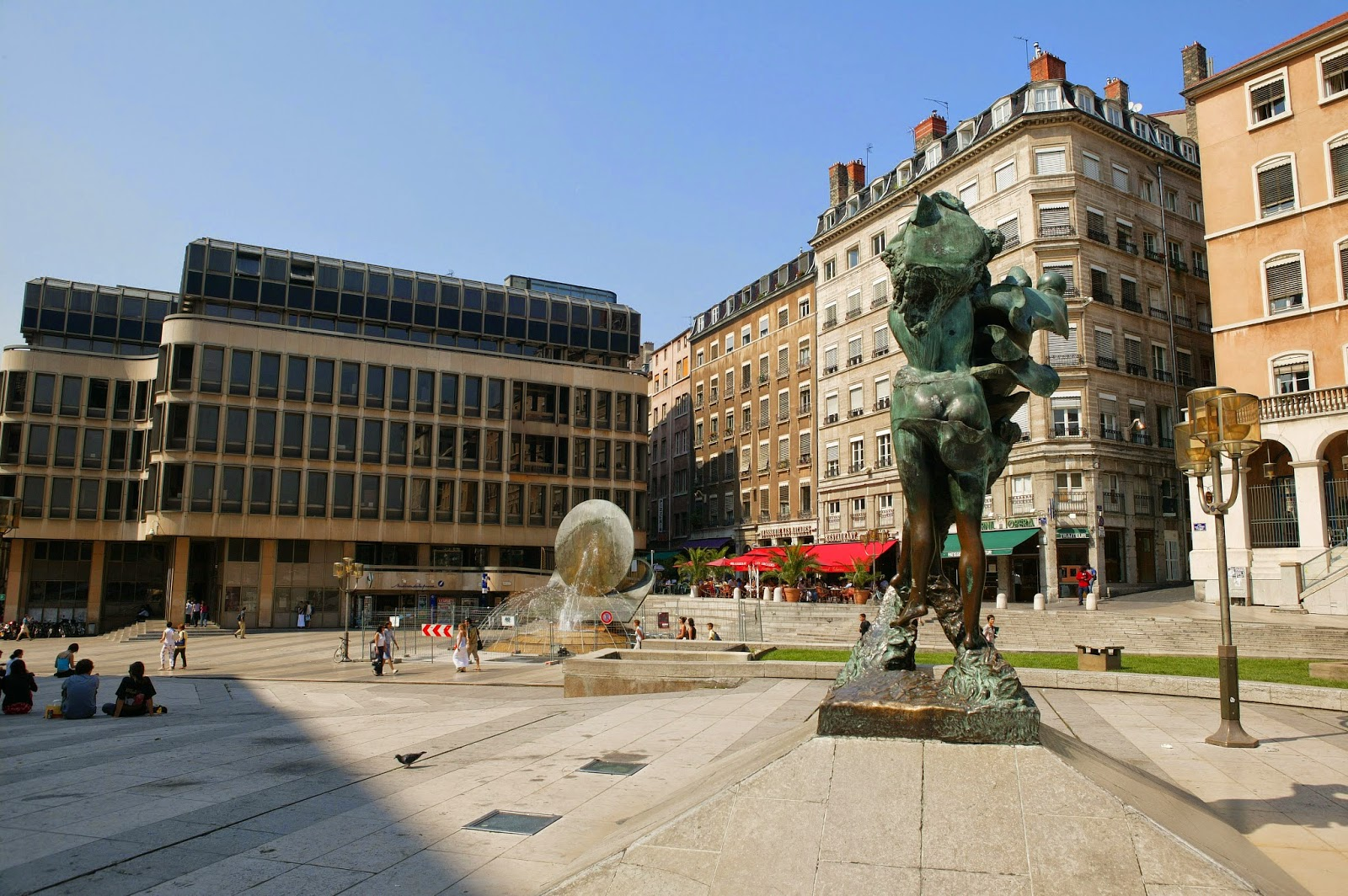 Place Louis Pradel à Lyon