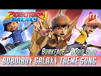 Lirik Lagu Bunkface Dunia Baru (OST BobiBoy Galaxy)