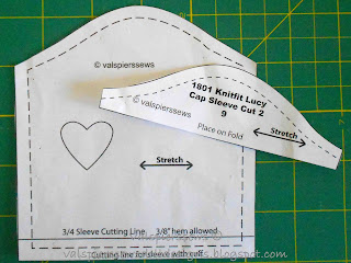 valspierssews doll clothes cap sleeve pattern
