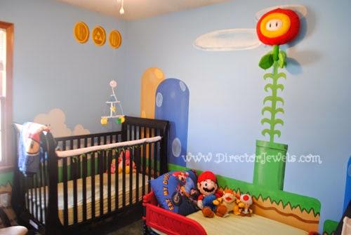 Director Jewels: Super Mario Bros. Nintendo Inspired Nursery ...