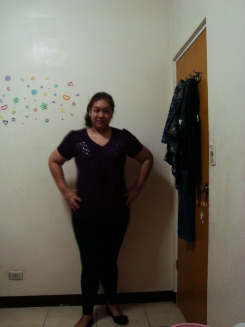 Outfit | Purple Rhinestones