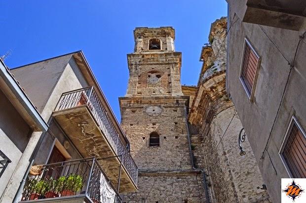 Bomba, chiesa di Santa Maria del Popolo. Campanile