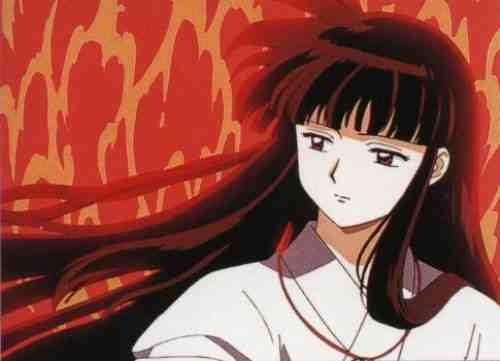 Biarpun Anime Ini Jadul Tapi Ada Si Miko Berambut Panjang Memang Cantik Banget Terus Rambutnya Juga Lurus Dia Karakter Yang Pemberani Dan Keren