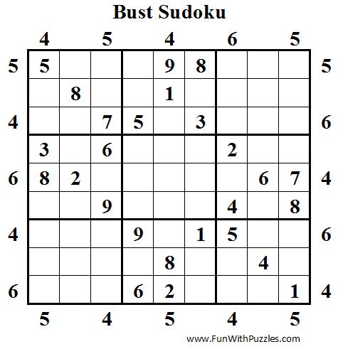 Bust Sudoku (Daily Sudoku League #42)