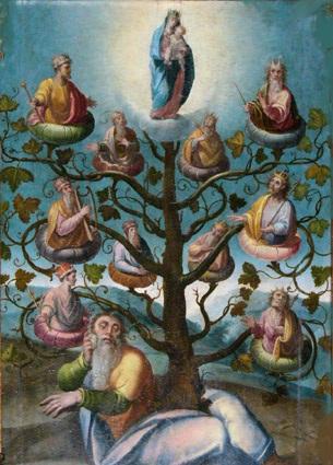 Resultado de imagen de ÁRBOL DE JESÉ