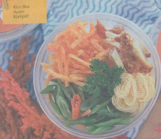 Rice Box Ayam Komplit