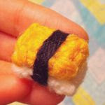patron gratis sushi amigurumi | free amigurumi pattern sushi