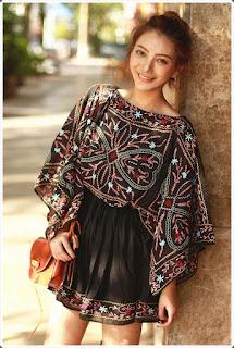 Elişi Elbise Modelleri - Moda Tasarım 32