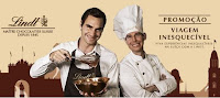 Promoção Lindt Viagem Inesquecível Roger Federer promocaolindt.com.br