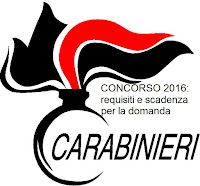 bando di concorso per carabinieri 2016