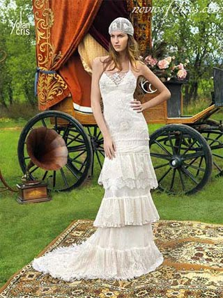 5a9b79937 Les presentamos una colección de vestidos de novia atrevidos
