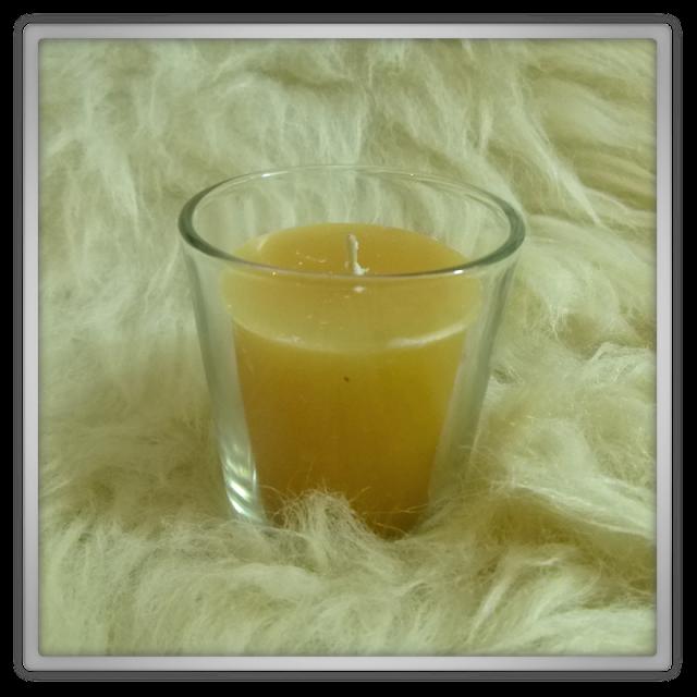 De tuinen bridgewater apple pie geurkaarsje en glaasje