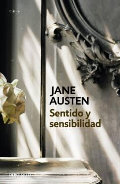 Cubierta del libro sentido y sensibilidad de Jane Austen
