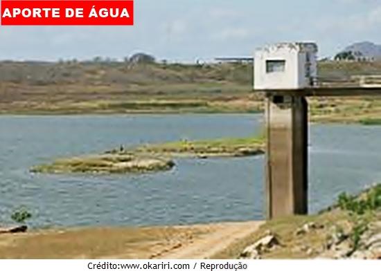 Chuvas da pré-estação eleva o aporte de água para 7,41% nos açudes do Ceará