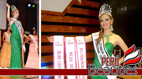 Cajamarca es Miss Teenager Beauty International Perú 2016