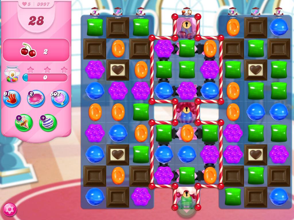 Candy Crush Saga level 3997