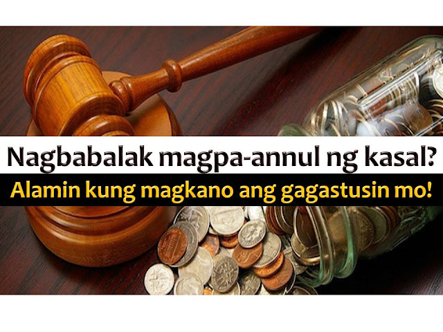 Getting married is expensive in the Philippines, as well as getting out of marriage.  Aside from costly process, annulment of marriage is also a physically and mentally exhausting according to Business Mirror lawyer Marjorie de Castro.  She said, if you are a petitioner in an annulment case, it will take a lot of your time as well as your resources.