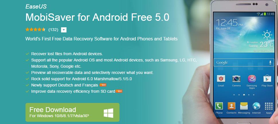 تحميل برنامج easeus mobisaver for android كامل