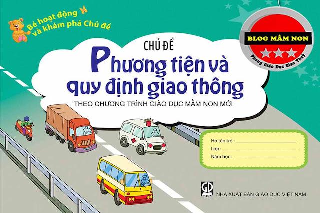 Giáo án chủ đề các phương tiện giao thông Đề tài: To, nhỏ