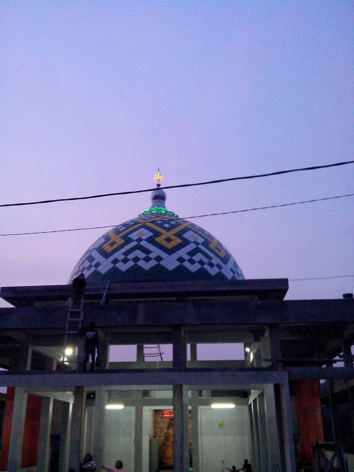 kontraktor kubah masjid CV CAHYO UTOMO KUBAH