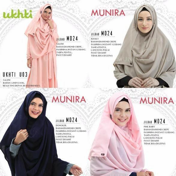 Toko Online Hijab Instan Reseller Jilbab Syari Modern Murah
