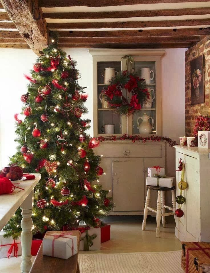 shabby in love christmas kitchen decor ideas. Black Bedroom Furniture Sets. Home Design Ideas