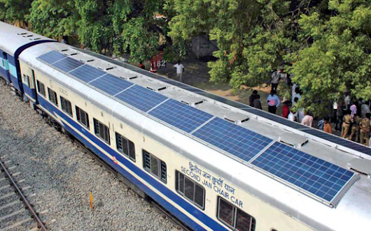 FV News: The first solar-powered train