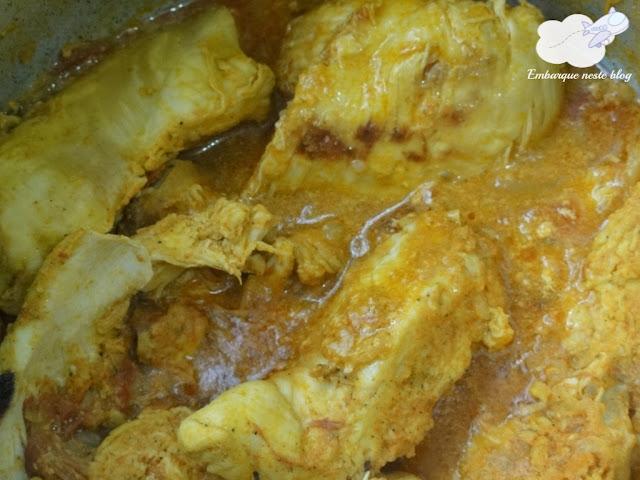 Salada de frango, Lanche de praia,Cozinha do Viajante, Embarque neste blog